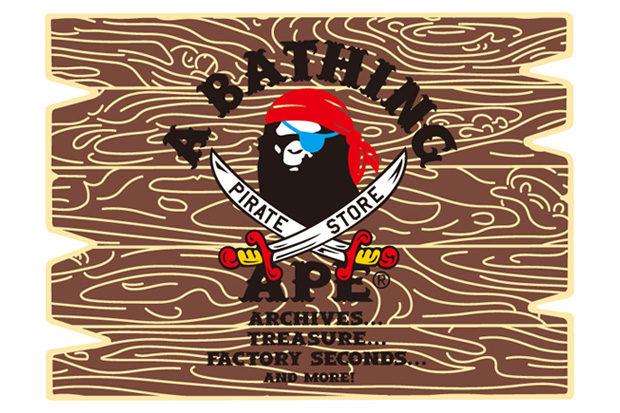 A BATHING APE PIRATE STORE Los Angeles & New York City