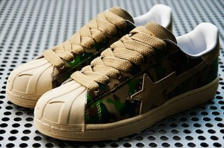 A Bathing Ape Puzzle Camo Skull Sta