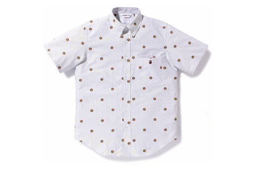 A Bathing Ape Striped Oxford Shirts