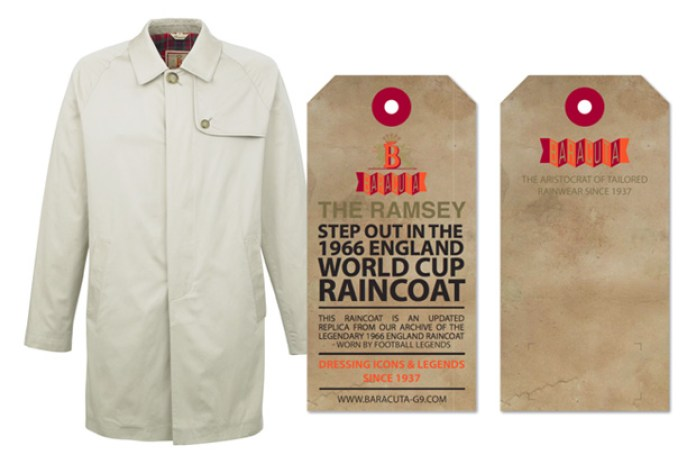 Baracuta 2010 Spring/Summer Collection Ramsey Raincoat