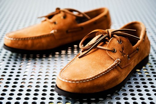 A Bathing Ape x Regal Boat Shoes
