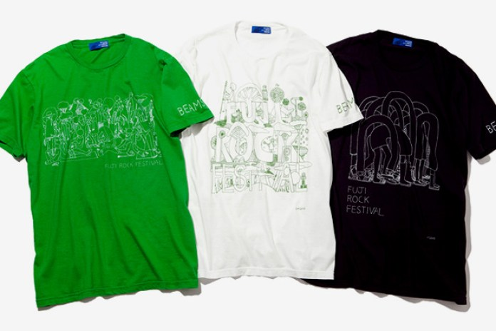 Beams Fuji Rock Festival 2010 Tees