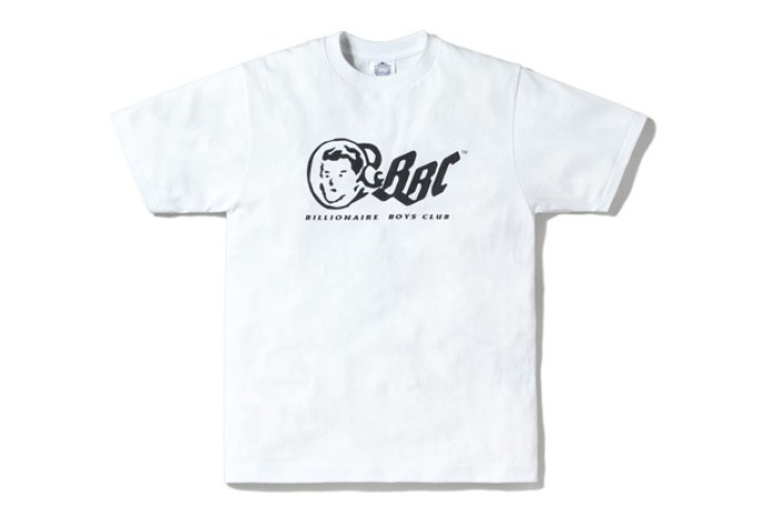 Billionaire Boys Club Authentic Logo Tee Re-Issue in White