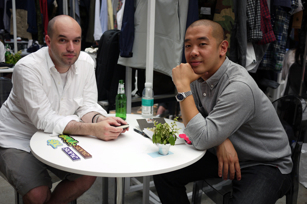 (capsule) 2011 Spring/Summer Show: Andrew Bunney and jeffstaple