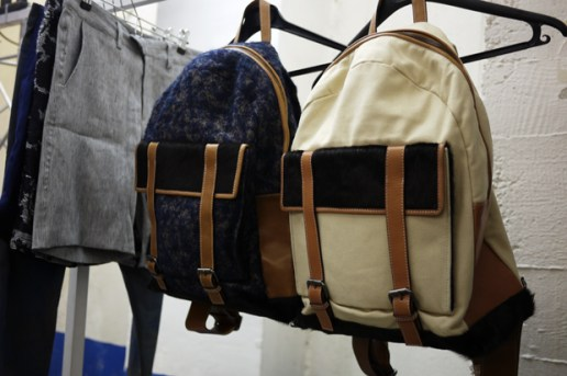 Timo Weiland 2011 Spring/Summer Collection Backpacks