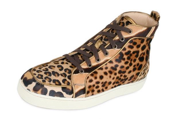 Christian Louboutin Leopard Pattern Sneakers