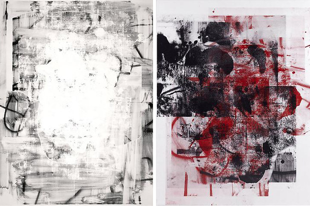"""Christopher Wool """"Rome"""" Exhibition"""