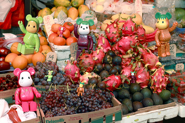 CLOT x Levi's x Medicom Toy Exotic Fruit Bearbricks Collection