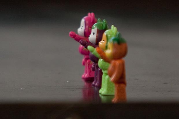 Clot x Medicom Toy 100% Bearbricks Preview