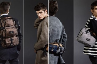 Gaspard Yurkievich for Eastpak 2010 Fall/Winter Bags