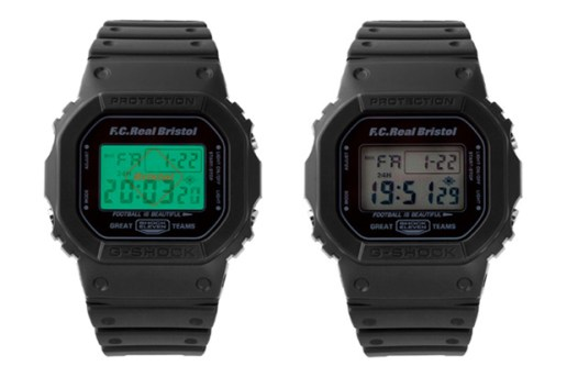F.C.R.B. x Casio G-SHOCK DW-5600 Watch