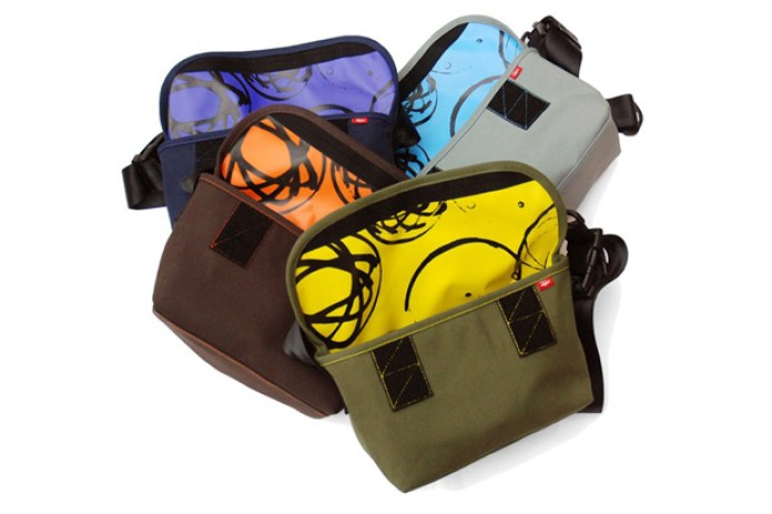 Futura Laboratories x CRANK Messenger Bags