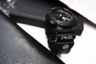 Garbstore x G-SHOCK GA-100 Watch Preview