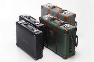 Globe-trotter for Hackett Luggage Collection