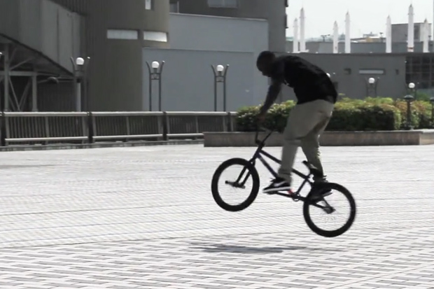In Tokyo with Nigel Sylvester