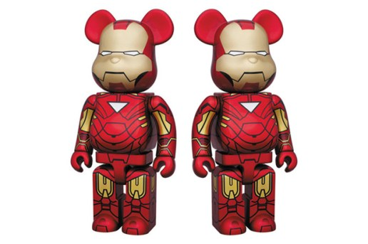 Medicom Toy Iron Man 2 MK VI 400% Bearbrick