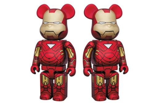 Medicom Toy Iron Man 2 MK VI 400% Bearbrick