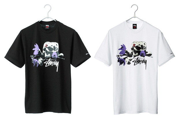 "JAM HOME MADE x Stussy ""Skull & Rose"" T-Shirt"