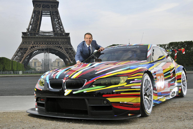 bmw art car jeff koons