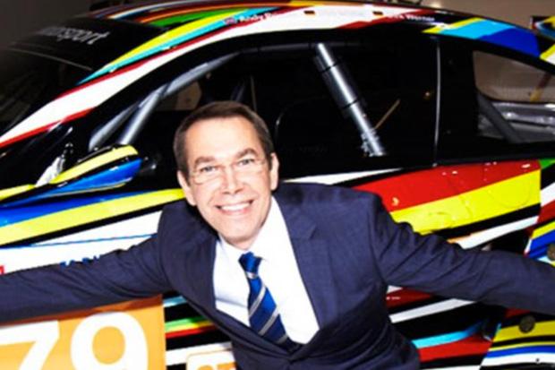 BMW Art Car: Jeff Koons Interview
