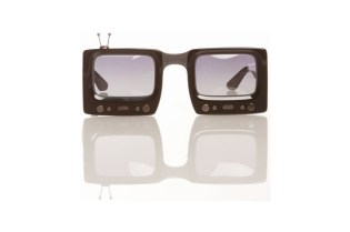 Jeremy Scott x Linda Farrow Sunglasses