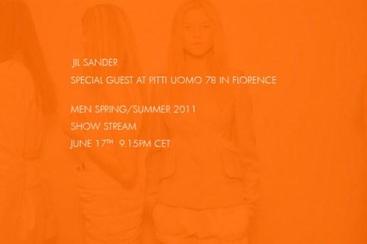 Jil Sander 2011 Spring/Summer Live Stream