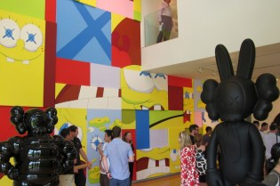 KAWS at The Aldrich Contemporary Art Museum Exhibition