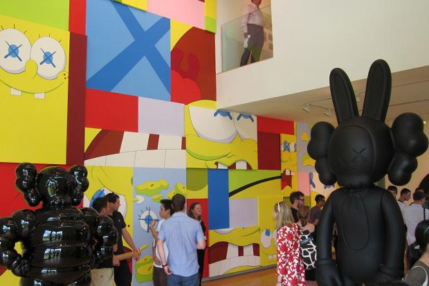 KAWS at The Aldrich Contemporary Art Museum Exhibition