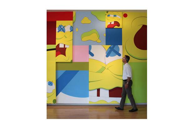 KAWS @ The Aldrich Contemporary Art Museum Preview
