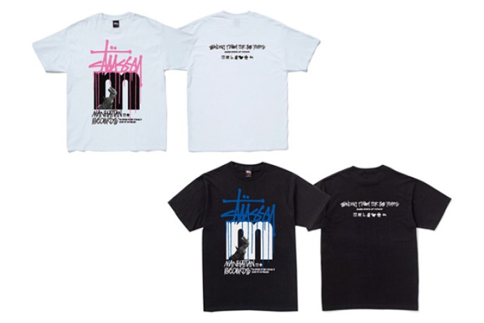 "Manhattan Records x Stussy ""DJ Souljah"" Tee"