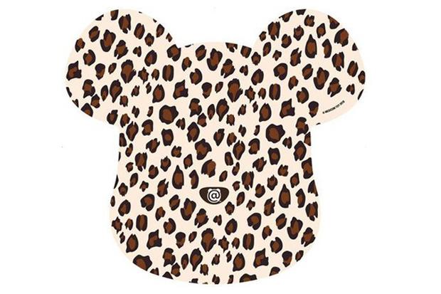 Medicom Toy x SENSE Leopard Bearbrick Mousepad