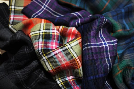 Mr. Start 2010 Spring/Summer Tartan Scarves