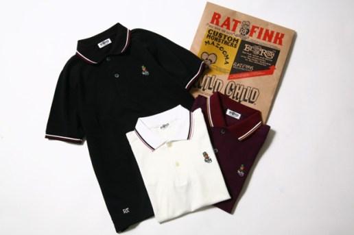 nano universe x Rat Fink Polo Shirts