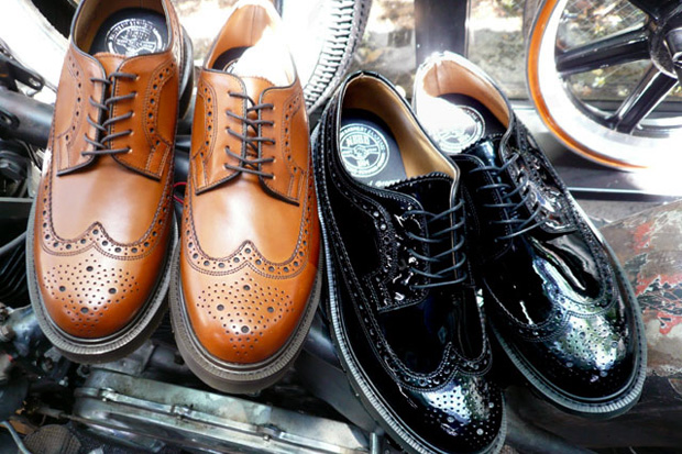 NEIGHBORHOOD x Loake Wingtips