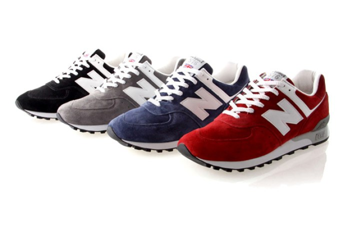 New Balance 2010 Spring/Summer Collection 576 Suede Pack