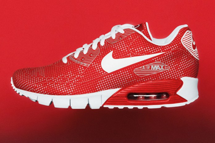 Nike 2010 Fall/Winter Air Max 90 Current Moire Red/White