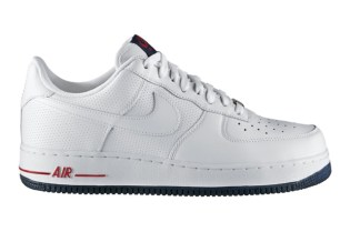 Nike Air Force 1 Low White/Blue/Red