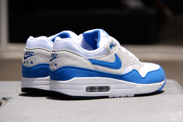 Nike Air Max 1 QS White/Varsity Royal