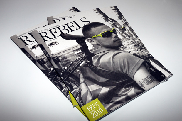 "OAKLEY Cycle Culture Magazine ""REBELS"""