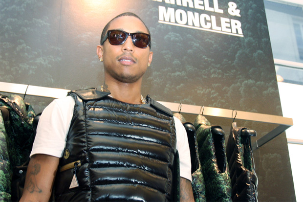 Pharrell Williams x Moncler Collection @ colette