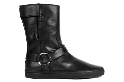 Raf Simons 2010 Fall/Winter Leather Velcro Boots
