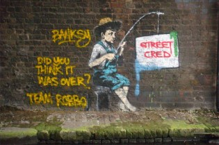 Exclusive Interview with Robbo: On Banksy, Graffiti and More by Helen Soteriou