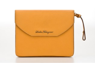 Salvatore Ferragamo Leather iPad Cases