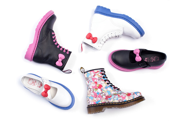Sanrio for Dr. Martens 50th Anniversary Collection
