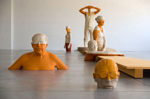 Sculptures by Willy Verginer