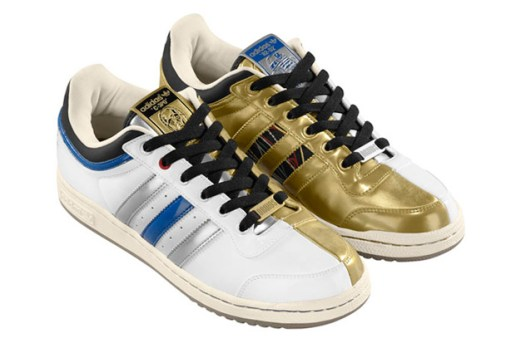 "Stars War x adidas Originals 2010 Fall/Winter ""R2-D2 + C-3PO"" Top Ten Low"