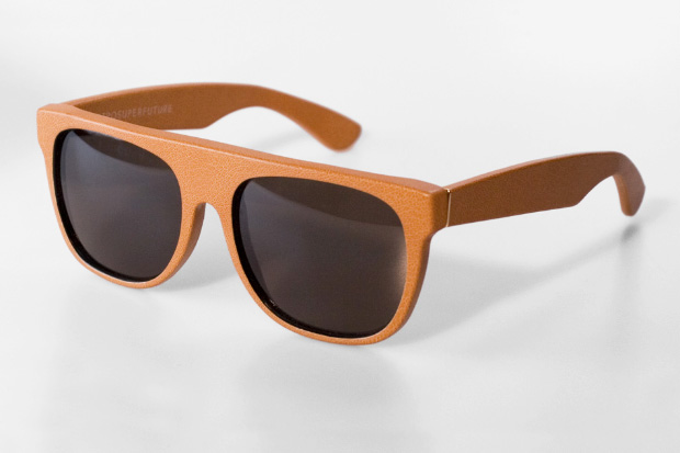 SUPER 2010 Fall Leather Flattop Frames