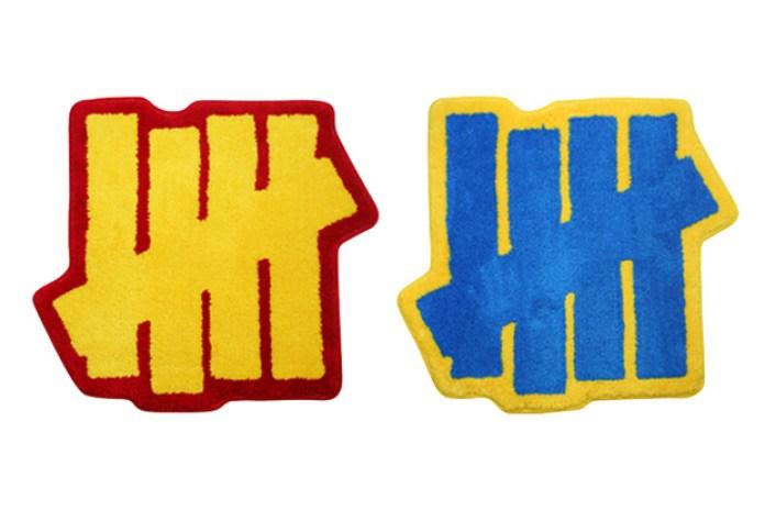 UNDFTD x Gallery 1950 Five Strike Logo Rug Mats