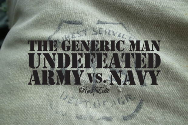 UNDFTD x The Generic Man Army vs. Navy Collection