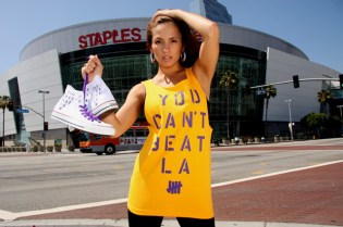 UNDFTD You Can't Beat LA: Strikes T-shirt & Converse Chuck Taylor All-Star